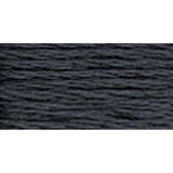 Anchor 6-Strand Embroidery Floss 8.75Yd-Charcoal Grey Dark