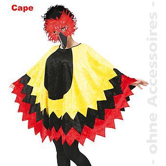 Vogel Vogelkostüm Federcape Vogelcape Huhn Kostüm
