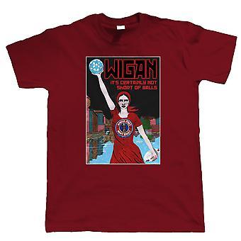 Wigan T Shirt   Guest Artist Eric Jackson