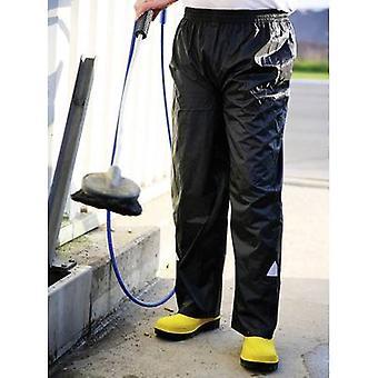 L+D ELDEE 4091 Rain Trousers Size: M Black
