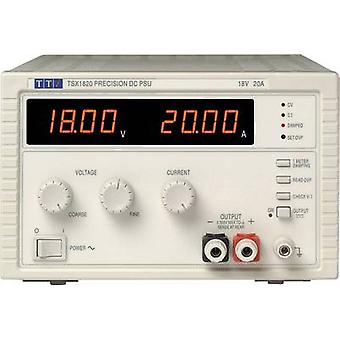 Aim TTi TSX1820 Bench PSU (adjustable voltage) 0 - 18 Vdc 0 - 20 A 360 W No. of outputs 1 x