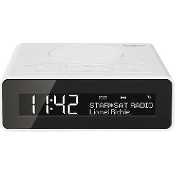 TechniSat DigitRadio 51 DAB+ Radio alarm clock DAB+, FM, AUX White