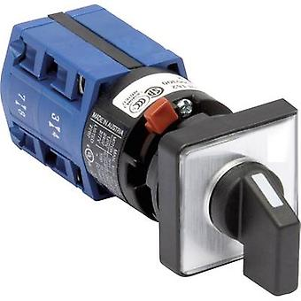 Kraus & Naimer CG4 A210-621 FS2 Isolator bytte 10 en 2 x 60 ° grå, svart 1 eller flere PCer