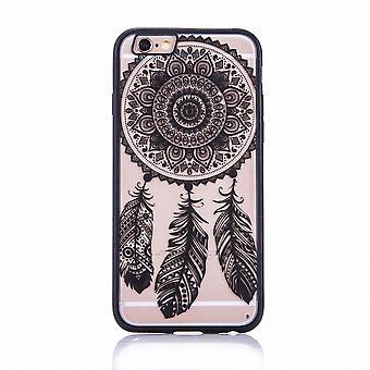 Mobile case mandala for Apple iPhone 8 design case cover design dream catcher cover bumper black