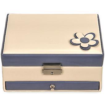 Sacher jewellery box cream jewellery box BELLA FIORE Blue Castle mirror