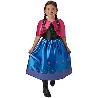 Anna Frozen Classic Kleid Kostüm für Kinder Anna und Elsa