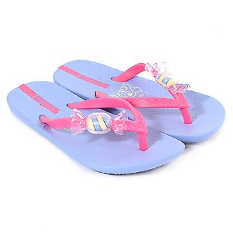 Ipanema Kids Summer Love Plastic Flip Flop Violet Sweet