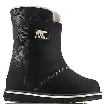 Unisex Kids Sorel Youth Rylee Camo Winter Waterproof Snow Rain Ankle Boots
