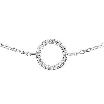Kreis - 925 Sterling Silber Kette Armbänder - W31519X