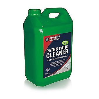 Path Patio Cleaner Spear & Jackson Listo para Usar 5L