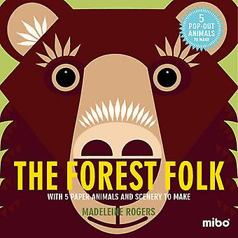 The Forest Folk - With 5 Paper Animals and Scenery to Make by Madelein