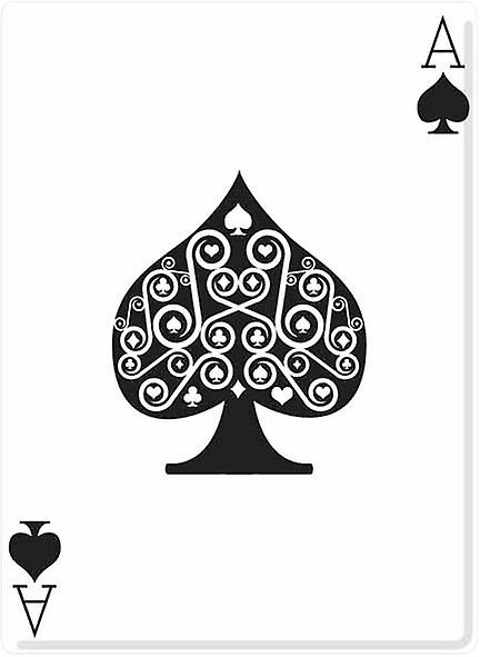 Ace of Spades (Poker Night) - Lifesize Cardboard Cutout / Standee