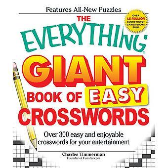 Allt jätte bok av lätt korsord - över 300 lätt och njuta av