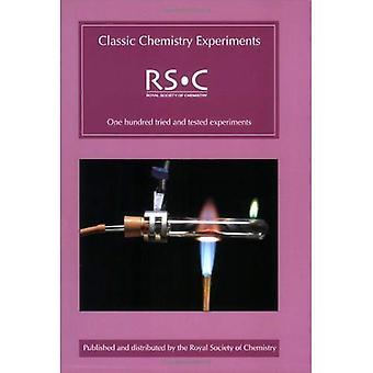 Expériences de chimie classique