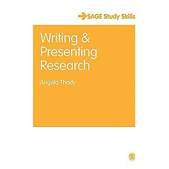 Escritura y presentación de investigación (serie de habilidades de estudio Salvia)