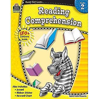 Läsförståelse, Grade 2 [med 180 + klistermärken] (Ready-Set-Learn)