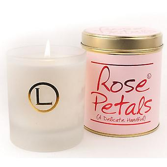 Lily Flame Scented Glassware Candle - Rose Petals