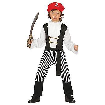 Garçons Costume déguisements Pirate des Caraïbes à rayures