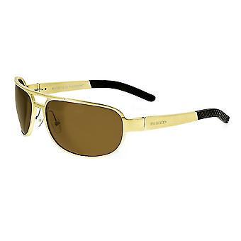 Rasen Xander Aluminium polariserade solglasögon - guld/brun
