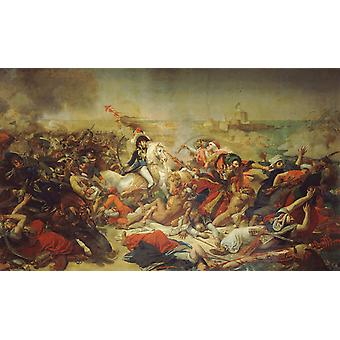 Napoleo on the Battlefield at,Baron Antoine-Jean Gros,60x36cm