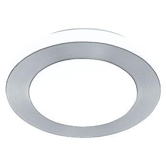 Eglo - LED 11w Carpi decorativo escovado alumínio redonda banheiro teto luz EG94967