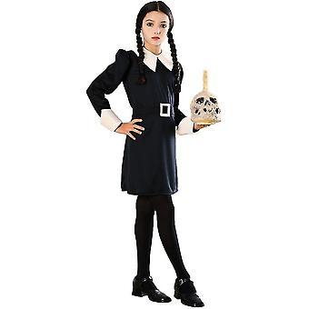 Wednesday Addams Family Child Costume