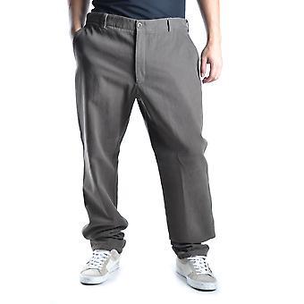 Armani Collezioni Brown Cotton Pants