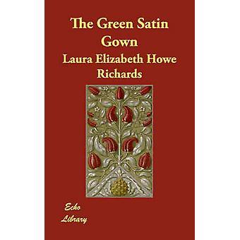 Vihreä Satiini puku Richards & Laura Elisabet Howe