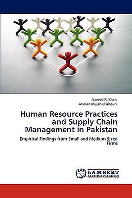 Huhomme Resource Practices and Supply chaîne ManageHommest in Pakistan by R. Khan & Naveed