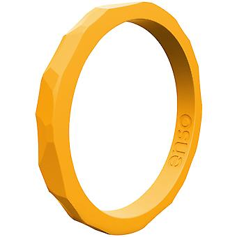 Enso Rings Hammered Stackables Series Silicone Ring - Torch