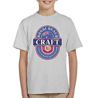 Bondi Beach Craft Ale Kid's T-Shirt
