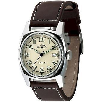 Zeno-watch mens watch retro Carre automatic 6164-a9
