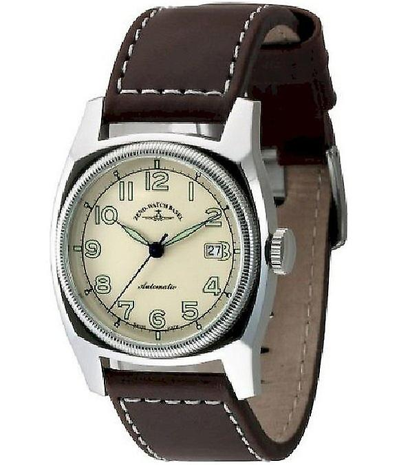 Zeno-Watch Herrenuhr Retro Carre Automatic 6164-a9