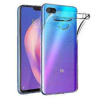 Xiaomi Mi 8 Lite telefoon geval geval geval geval Silicone transparant