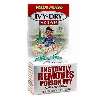 Ivy-dry bar soap, 0.7 oz bars, 3 ea
