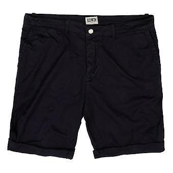 Edwin Denim Rail Bermuda Shorts, Blue Garment Dyed