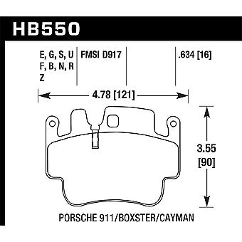 Hawk Performance HB550N.634 HP Plus