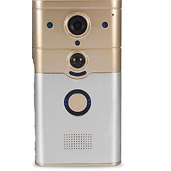 720p campainha sem fio WiFi câmera de vídeo telefone porteiro porta ir Night Vision P2P