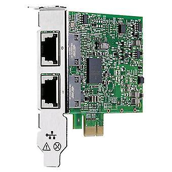 Hp 615732-b21 network card 2-port rj-45 1,000 mbps pci-express lan