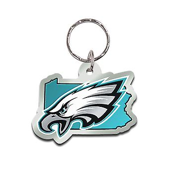 Wincraft STATE Keychain - NFL Philadelphia Eagles