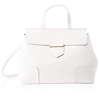 Chicca tassen 8697 witte vrouwen schoudertas 38x29x18 cm (b x H x L)