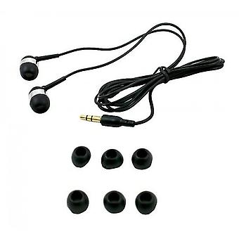 Headset-3 Silicone caps (BLACK)