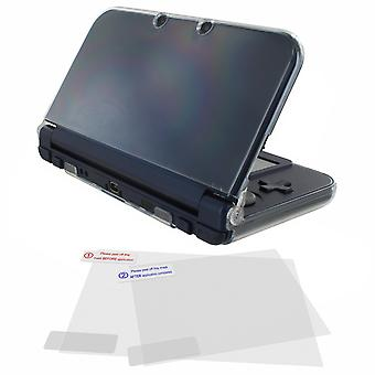Nieuwe 3ds XL Crystal Case & Screen Protector Pack
