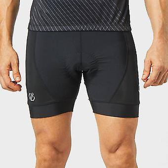 Nieuwe Dare 2b men ' s ecliptic gel cycling shorts zwart