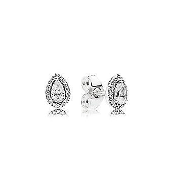 Pendientes de espárragos de mujer de plata Pandora - 296252CZ