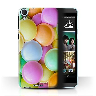 STUFF4 Case/Cover for HTC Desire 820q Dual/Flying Saucers/Confectionery