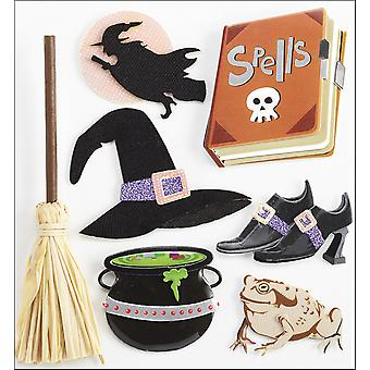 Jolee's Boutique Dimensional Stickers Witches E5020955