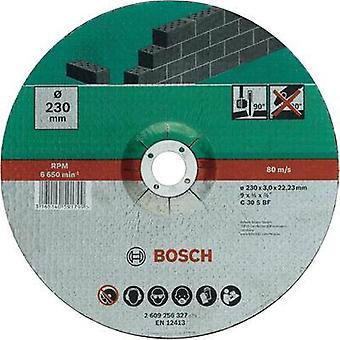 Cutting disc with depressed centre, stone Bosch Accessories 2609256327 Diameter 230