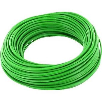 Jumper wire 1 x 0.2 mm² Green BELI-BECO D 105/10 verde 10 m