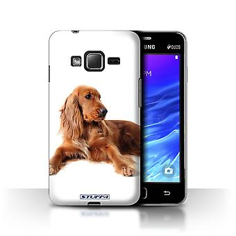 STUFF4 Case/Cover for Samsung Z1/Z130/Cocker Spaniel/Dog Breeds
